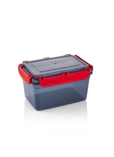 Schafer Green Plastik Saklama Kabı-1,4 LT-55264 Gri